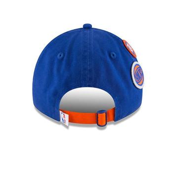 NEW ERA new york knicks 9twenty adjustable NBA basketball draft cap [royal]