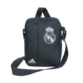 f192d546ecb7 ADIDAS real madrid organiser shoulder bag  dark grey