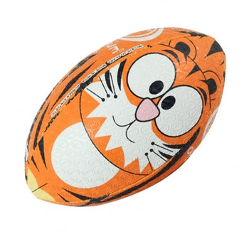 OPTIMUM Cartoon Tiger rugby ball - MINI