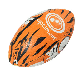 OPTIMUM Cartoon Tiger rugby ball - MINI