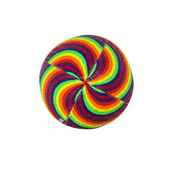 OPTIMUM Cartoon Rainbow Twister rugby ball - MIDI