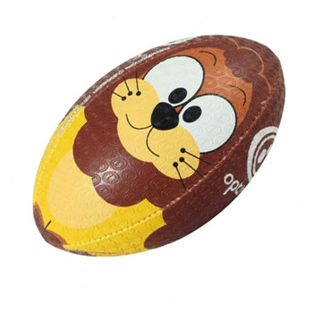 OPTIMUM Cartoon Lion rugby ball - MIDI
