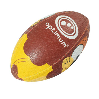 OPTIMUM Cartoon Lion rugby ball - MIDI