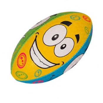 OPTIMUM Cartoon Emoji rugby ball - MINI
