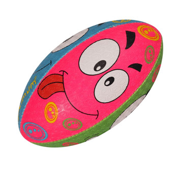 OPTIMUM Cartoon Emoji rugby ball - MINI