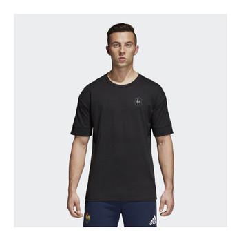 ADIDAS france FFR rugby t-shirt [black]