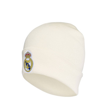 ADIDAS Real Madrid football beanie hat [white]