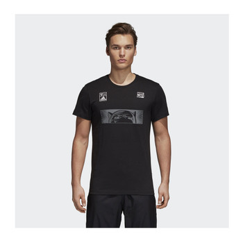 f82cd013f ADIDAS marvel comics black panther t-shirt  dark grey