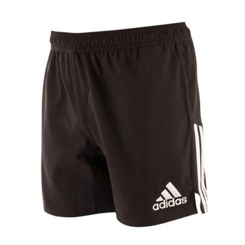 ADIDAS 3 stripe rugby shorts [black]