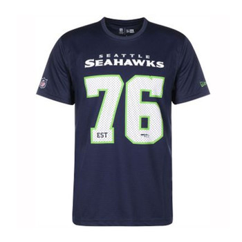 NEW ERA Seattle Seahawks NFL Supporter Tee Shirt [navy]