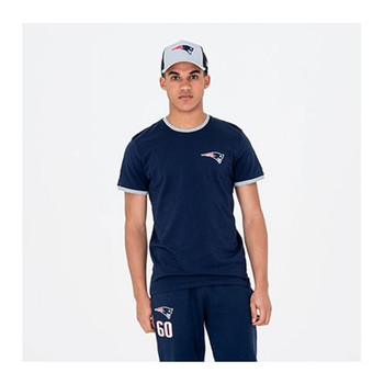 NEW ERA New England Patriots Team NFL Tee Shirt [navy]