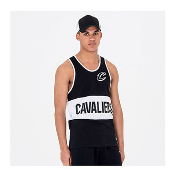 NEW ERA Cleveland Cavaliers Team Black Mesh Tank Basketball [black]