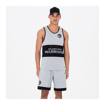 NEW ERA golden state warriors NBA Team shorts [grey]