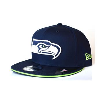 NEW ERA Seattle Seahawks 9fifty Team Snapback  [navy]