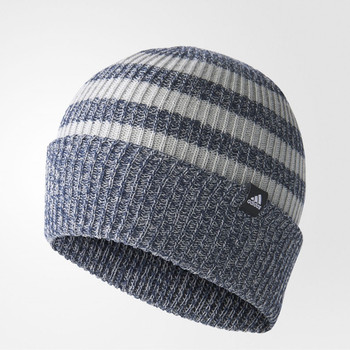 ADIDAS 3 Stripes Loose Beanie [blue/grey]