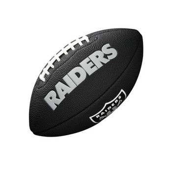 WILSON Oakland Raiders NFL mini american football [black]