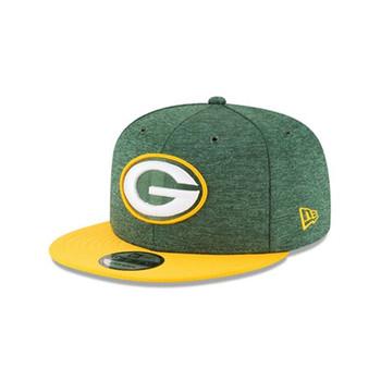 NEW ERA Green Bay Packers 2018 sideline home 9fifty snapback NFL cap [green]