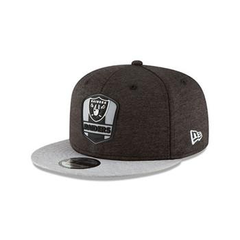 NEW ERA Oakland Raiders sideline away 9fifty snapback cap [black/grey]