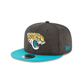 NEW ERA Jacksonville Jaguars sideline 9fifty snapback cap [dark grey]