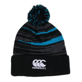 CCC ospreys rugby acrylic bobble hat [anthracite]