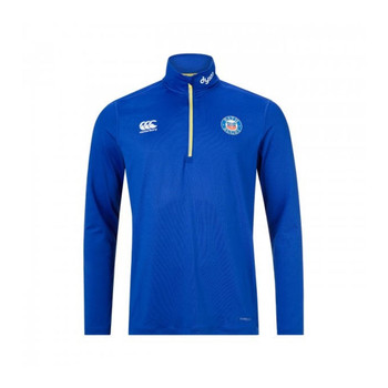CCC Bath rugby vapodri 1st layer 1/4 zip top [Blue]