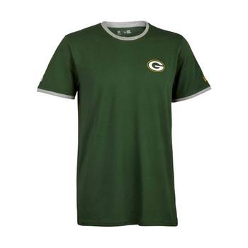 NEW ERA Green Bay Packers Ringers logo t-shirt [green]