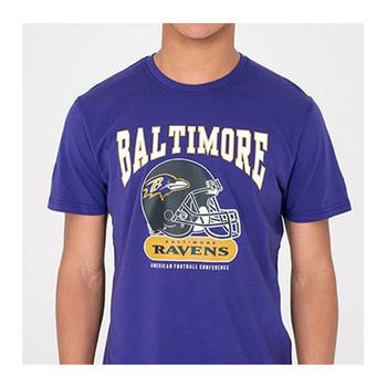 NEW ERA baltimore ravens NFL archie retro t-shirt [purple]