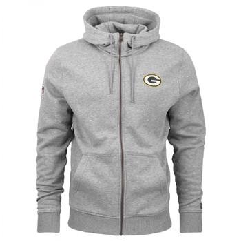 NEW ERA NFL Green Bay Packers Full Zip hoody [grey]