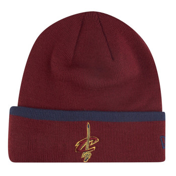 NEW ERA Cleveland Cavaliers NBA team basketball cuff beanie [maroon]