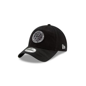 NEW ERA san antonio spurs 2018 adjustable 9Twenty NBA basketball Tip Off Series cap [black]
