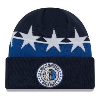 NEW ERA dallas mavericks NBA tip-off beanie hat [blue/white]