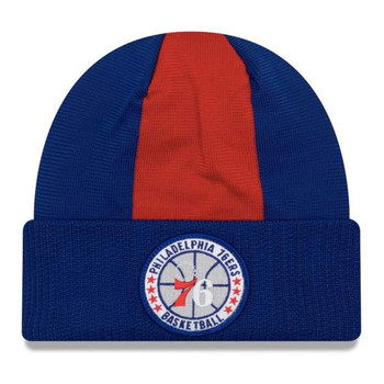 NEW ERA philadelphia 76ers NBA tip-off beanie hat [blue/red]