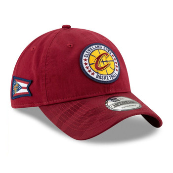 NEW ERA cleveland cavaliers adjustable Tip Off series 9twenty NBA basketball cap [granat]