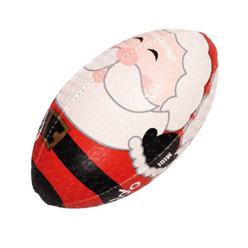 OPTIMUM Rugby Ball Christmas Santa -  Size Midi