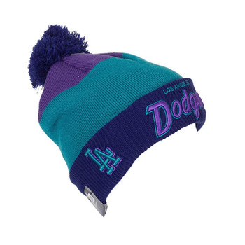 NEW ERA Los Angeles Dodgers MLB Bobble Hat [purple]