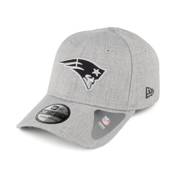 NEW ERA New England Patriots 39Thirty Heather Essentials cap small/medium [grey]
