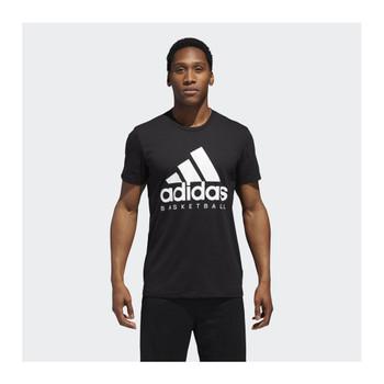 ADIDAS Basketball Graphic Tee [black]