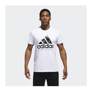 ADIDAS Basketball Graphic Tee [white]
