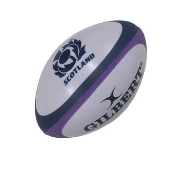 GILBERT Scotland SRU  rugby stress ball [purple/white]