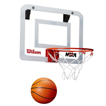 WILSON showcase NCAA basketball mini hoop door set
