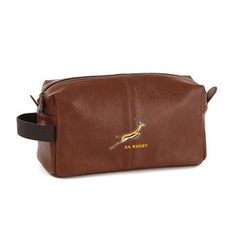 EGGCATCHER south africa rugby wash kit bag [brown]