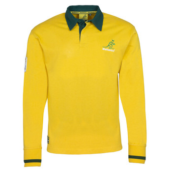 Brandco Australia Wallabies rugby Jersey [yellow]