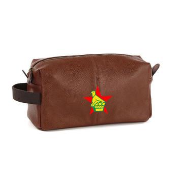 EGGCATCHER zimbabwe wash kit bag [brown]