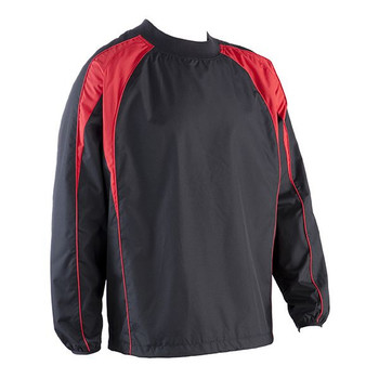 EGGCATCHER wagga wagga rugby contact top [black/red]