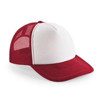 EGGCATCHER wollongong retro trucker cap [red/white]