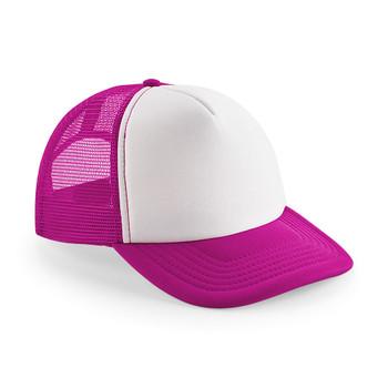 EGGCATCHER wollongong retro trucker cap [pink/white]