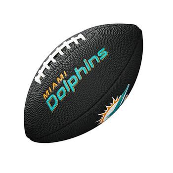 WILSON Miami Dolphins NFL mini american football [black/blue]