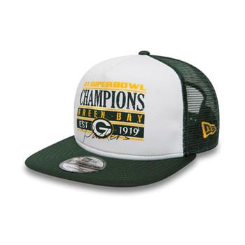 NEW ERA Green Bay Packers Trucker cap small/medium [white/green]