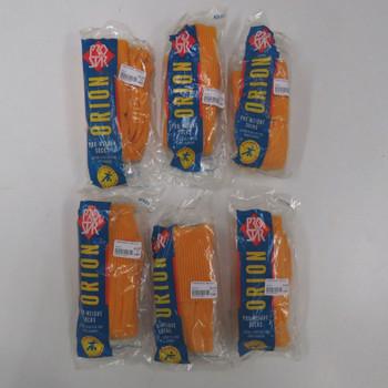 PRO STAR orion football socks [amber] (UK 3-6) 6 pair pack