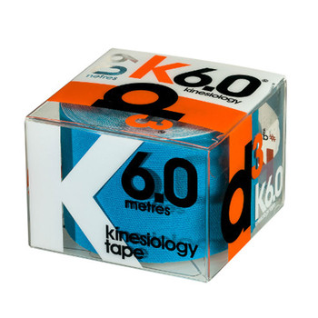 D3 kinesiology K6.0 tape (single) 50mm x 6m [blue]